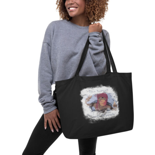 large eco tote black front 61461bed118fd