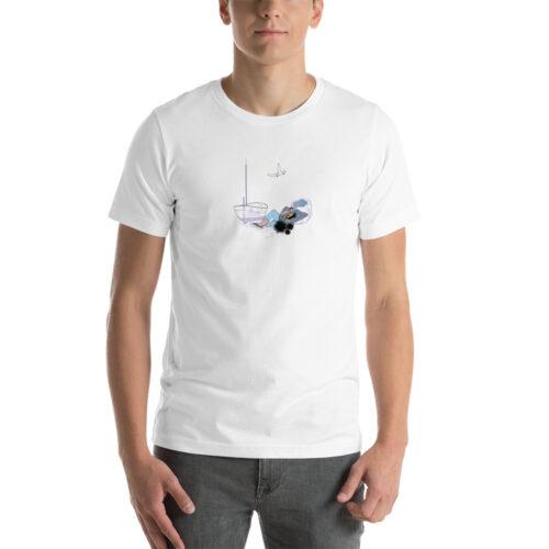 unisex staple t shirt white front 6148d9048b07e